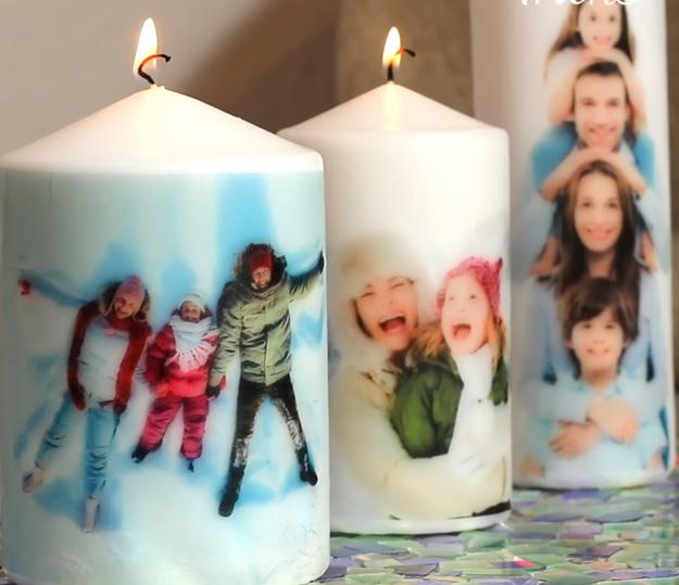 candele fai-da-te