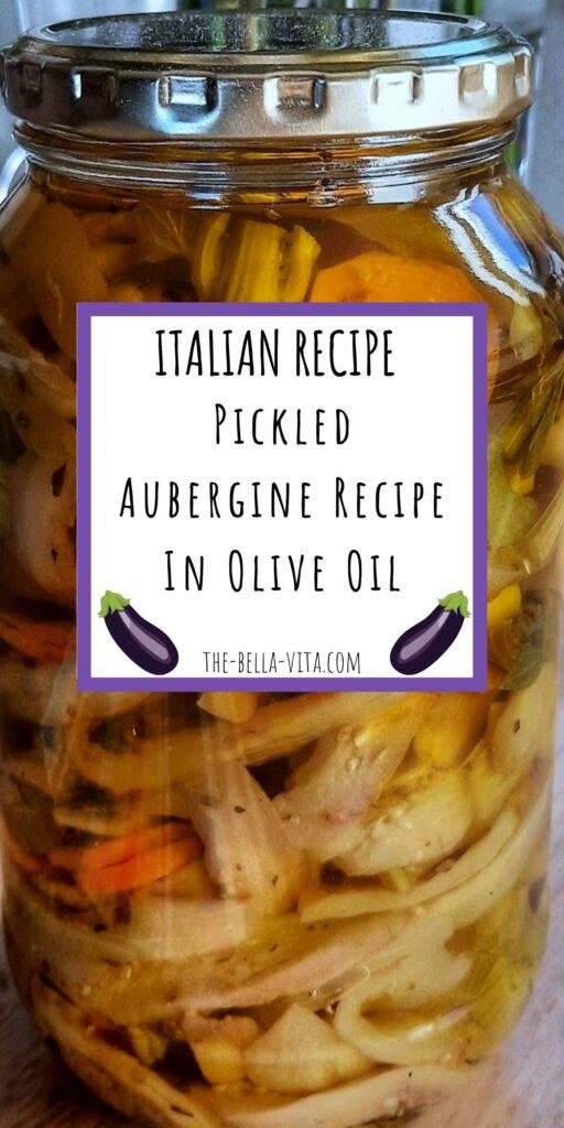 pickled aubergine recipe